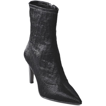 Schuhe Damen Low Boots Elvio Zanon I2906X Schwarz