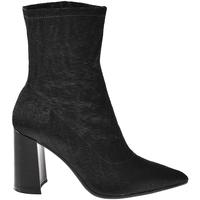 Schuhe Damen Low Boots Elvio Zanon I3104X Schwarz