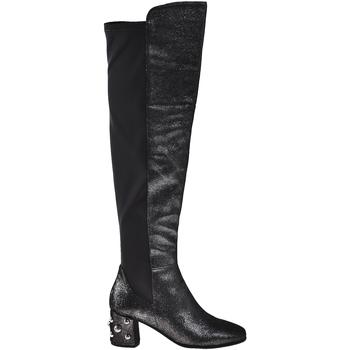 Schuhe Damen Klassische Stiefel Elvio Zanon I5504G Schwarz