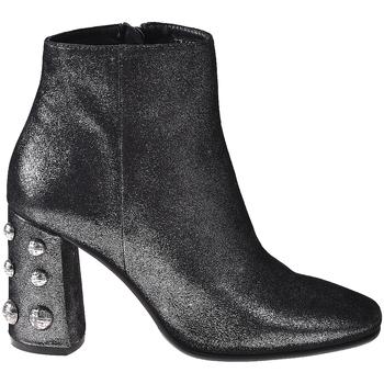 Schuhe Damen Low Boots Elvio Zanon I5703G Schwarz