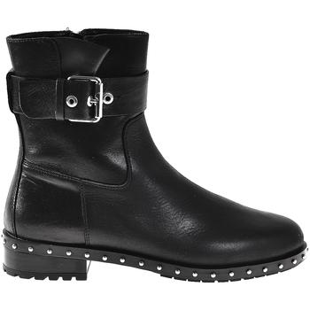 Schuhe Damen Low Boots Elvio Zanon I6201N Schwarz