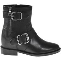 Schuhe Damen Low Boots Elvio Zanon I7005N Schwarz