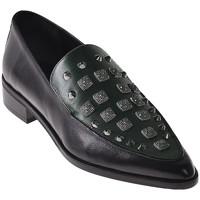 Schuhe Damen Slipper Elvio Zanon I7703G Schwarz