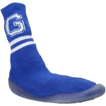 Schuhe Kinder Hausschuhe Grunland PA1036 Blau