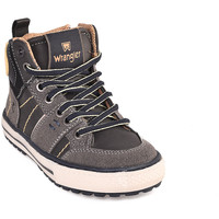 Schuhe Kinder Sneaker High Wrangler WJ18213 Schwarz