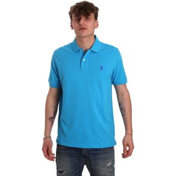 Kleidung Herren Polohemden U.S Polo Assn. 55957 41029 Blau