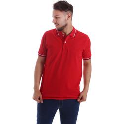 Kleidung Herren Polohemden Key Up 2Q70G 0001 Rot
