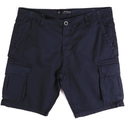 Kleidung Herren Shorts / Bermudas Key Up 2P16A 0001 Blau
