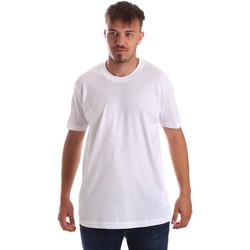 Kleidung Herren T-Shirts Key Up 2M915 0001 Weiß
