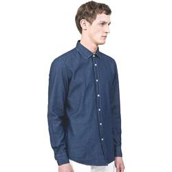 Kleidung Herren Langärmelige Hemden Antony Morato MMSL00520 FA440019 Blau