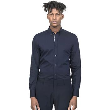 Kleidung Herren Langärmelige Hemden Antony Morato MMSL00523 FA450001 Blau