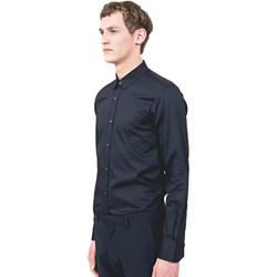 Kleidung Herren Langärmelige Hemden Antony Morato MMSL00525 FA440012 Blau