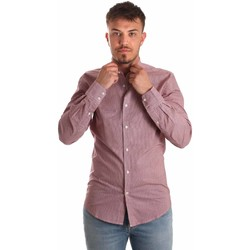 Kleidung Herren Langärmelige Hemden Antony Morato MMSL00526 FA430360 Rot