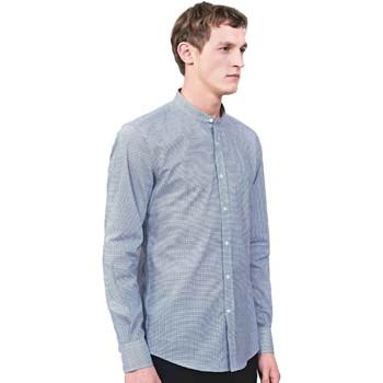 Kleidung Herren Langärmelige Hemden Antony Morato MMSL00526 FA430360 Blau