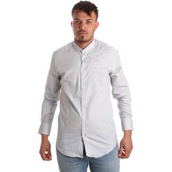 Kleidung Herren Langärmelige Hemden Antony Morato MMSL00526 FA440024 Weiß