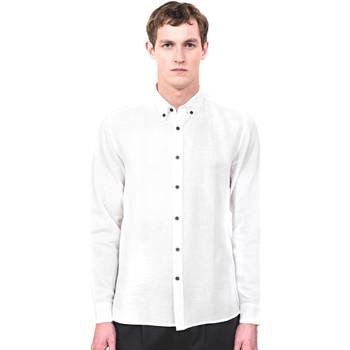 Kleidung Herren Langärmelige Hemden Antony Morato MMSL00530 FA400051 Beige