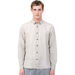 Kleidung Herren Langärmelige Hemden Antony Morato MMSL00530 FA400051 Grau