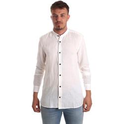 Kleidung Herren Langärmelige Hemden Antony Morato MMSL00547 FA400051 Weiß