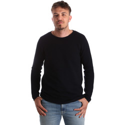 Kleidung Herren Pullover Antony Morato MMSW00938 YA100018 Blau
