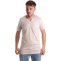 Kleidung Herren T-Shirts Antony Morato MMKS01487 FA100139 Beige