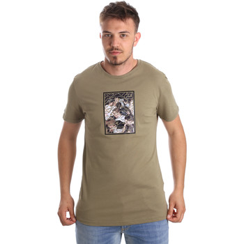 Kleidung Herren T-Shirts Antony Morato MMKS01551 FA100144 Grün