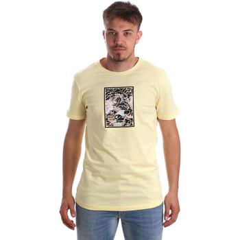 Kleidung Herren T-Shirts Antony Morato MMKS01551 FA100144 Gelb
