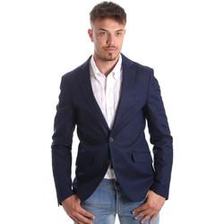 Kleidung Herren Jacken / Blazers Antony Morato MMJA00388 FA400060 Blau