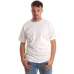 Kleidung Herren T-Shirts Antony Morato MMKS01564 FA100189 Weiß