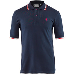 Kleidung Herren Polohemden Lumberjack CM45940 004 506 Blau