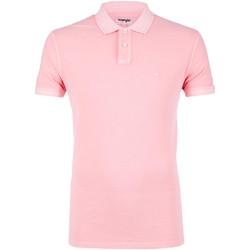 Kleidung Herren Polohemden Wrangler W7C15K Rosa