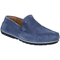 Schuhe Herren Slipper Rogers 701 Blau