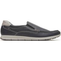 Schuhe Herren Slipper Enval 3238000 Blau