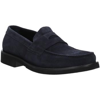 Schuhe Herren Slipper Rogers AZ004 Blau