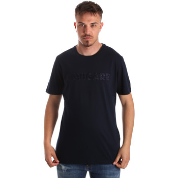 Kleidung Herren T-Shirts Navigare NV31070 Blau