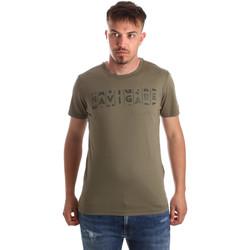 Kleidung Herren T-Shirts Navigare NV31081 Grün
