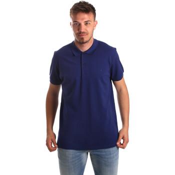 Kleidung Herren Polohemden Navigare NV82001AD Blau