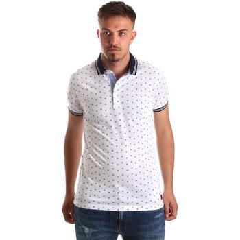 Kleidung Herren Polohemden Navigare NV82099 Weiß