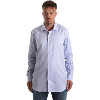 Kleidung Herren Langärmelige Hemden Navigare NV90005 FR Blau
