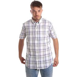 Kleidung Herren Kurzärmelige Hemden Navigare NV91057 BD Blau