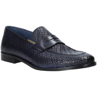 Schuhe Herren Slipper Rogers 1012_3 Blau