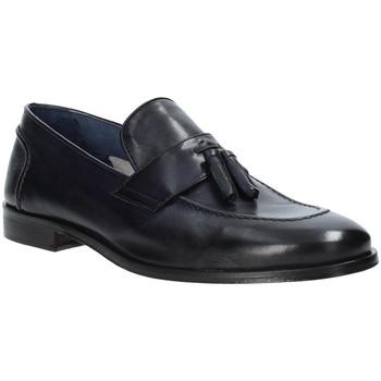 Schuhe Herren Slipper Rogers 1023_3 Blau