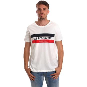 Kleidung Herren T-Shirts U.S Polo Assn. 51520 51655 Weiß