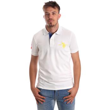 Kleidung Herren Polohemden U.S Polo Assn. 50336 51267 Weiß