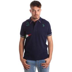 Kleidung Herren Polohemden U.S Polo Assn. 41029 51252 Blau