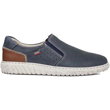 Schuhe Herren Slip on CallagHan 18503 Blau