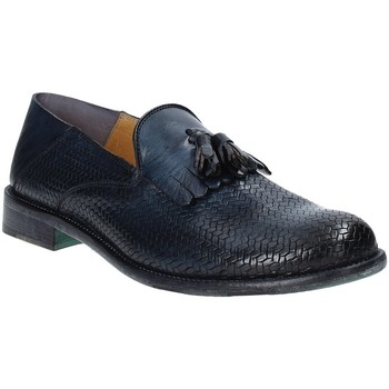 Schuhe Herren Slipper Exton 3105 Blau