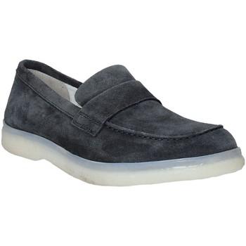 Schuhe Herren Slipper Marco Ferretti 360006MF Blau