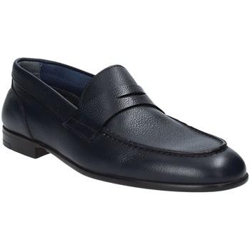 Schuhe Herren Slipper Marco Ferretti 160973MF Blau