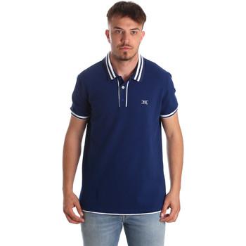 Kleidung Herren Polohemden NeroGiardini P972210U Blau