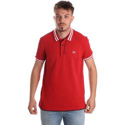 Kleidung Herren Polohemden NeroGiardini P972210U Rot
